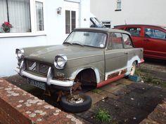Triumph Herald First registered: 7 April 1967 1147cc