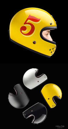 New Face helmet by Ateliers Ruby