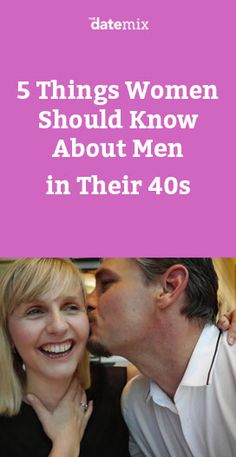 Dating A Man In His 40s