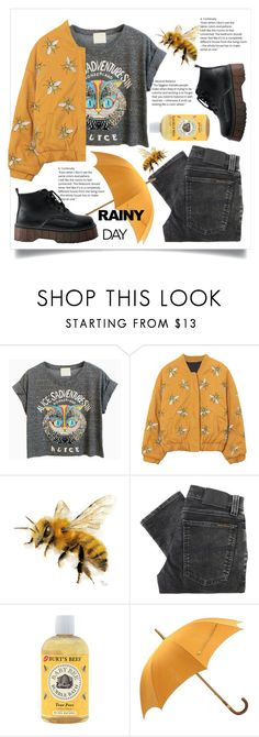 """bees hate the rain"" by cubukkrakker ❤ liked on Polyvore featuring Nudie Jeans Co. and Hermès"