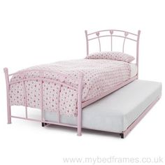 #Pink Jemima #Guest Bed