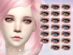 Eyes #2 New Version by Aveira at TSR via Sims 4 Updates