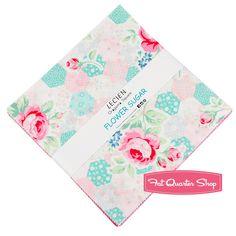 Flower Sugar Origami Square<BR>Lecien Fabrics