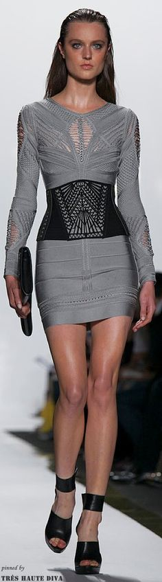 "Herve Leger Spring 2014 RTW  ( Sexy ""Cocktail"" Dresses )"