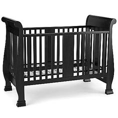Bella Sleigh Style Convertible Crib By Savanna Converts To A Toddler Bed  For Many Years Of. Baby Furniture SetsConvertible ...