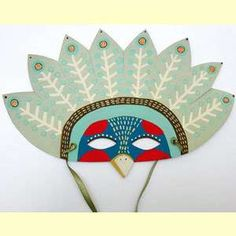 bird mask craft for kids - Google Search
