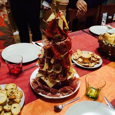 Cold Meats Xmas Tree