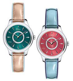 Dior VIII Montaigne Saisonnière Cette année, malgré le siège de directeur artistique laissé vacant par le départ de M. Simmons, Dior a ajouté deux nouvelles montres à sa ligne saisonnière, tirant toujours son inspiration des collections de prêt-à-porter de la Maison.