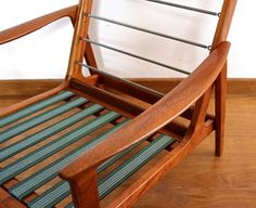 Parker Knoll Chair, Knoll Chairs, Diy Furniture, Furniture Design, Mid Century Design, Armchairs, Chair Design, New Homes, Woodworking