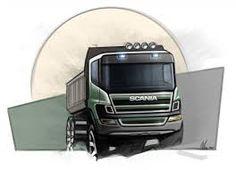 Resultado de imagem para new renault truck sketche
