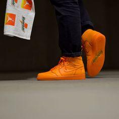Sneakers Outfit Men, Orange Sneakers, Men's Shoes, Nike Shoes, Shoes Sneakers, Nike Af1, Orange Peel, Air Jordan Shoes, Cool