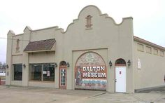 Dalton Museum in Coffeyville, KS.  Love this place..  Haven't been in a good 20 years, need to visit again.