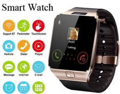84cc8d3437e reloj digital hombre 2018 Bluetooth Smart Watch Smartwatch TF SIM Camera for  IOS iPhone Android Phone reloj mujer digital-.