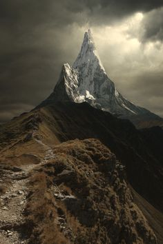 The Lonely Mountain.