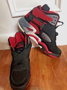 8ce5656d58d Ewing Rogue Shoes Red Black White men Size 12 EUR 46 UK 11