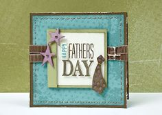 """Happy Father's Day"" card. #CTMH #Cards"