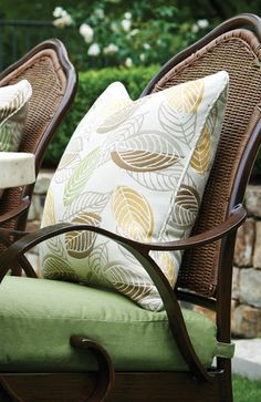 """Dimensions: 18"""" x 18"""" x 4"""" Material: Sunbrella® Peak Season is pleased to offer a variety of high-quality and durable accent pillows. With our large collection, changing out a color palette or applyin"""