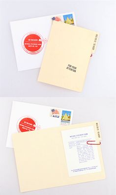 National Stationery Show mailer for potential retailers by SIMPLESONG | via simplesong blog