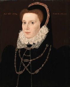 George Gower Portrait of a Lady 1574