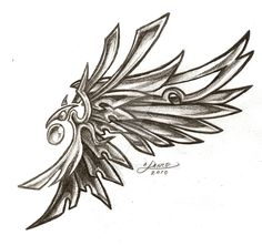 Faux Tattoo Wing by aichan25 on DeviantArt