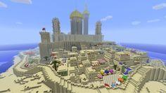 #Minecraft Sand Castle