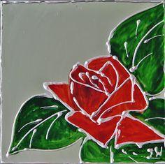 Pomysły plastyczne dla każdego DiY - Joanna Wajdenfeld: Witraże malowane na lustrze