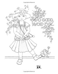 mary englebrite coloring pages - photo#8
