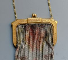 Vintage Whiting & Davis Art Deco Mesh Purse