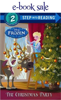 e-Book Sale: Disney Frozen 'The Christmas Party' #ebooks #books #thefrugalgirls