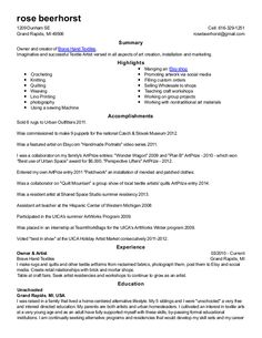 Sample Nanny Resume Cover Letter  Resume    Resume
