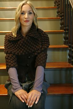 Surface sweater pattern by Norah Gaughan