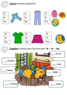 French Teaching Resources, Teaching French, French Language Lessons, French Lessons, French Basics, French Worksheets, French Education, French Grammar, Montessori Education