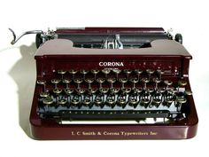 Smith Corona Sterling from 1936