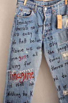 Damen Vintage Jeans Levi Jeans Levis Jeans Levis 501 Damen Jeans Relaxed Fit D Vintage Jeans, Jean Vintage, Vintage Mom, Unique Vintage, Vintage Clothing, Unique Clothing, Fashion Vintage, Vintage Style, Custom Clothing Design