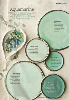 Soothing Bedroom Paint Colors Better Home And Gardens Featured Paint Shades Bedroom Paint Colors, Interior Paint Colors, Paint Colors For Home, Wall Colors, House Colors, Teal Paint Colors, Aqua Paint, Green Paint Colors, Interior Painting