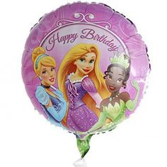 Make Somebody Feel Like A Princess With This Pretty Disney Birthday Balloon Perfect For Presents HimSend