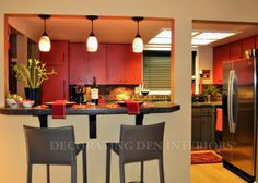 Kitchen accessories by Decorating Den Interiors. Want this look? Call The Landry Team to set up your FREE consultation 817-472-0067. Visit our website TheLandryTeam.DecoratingDen.com