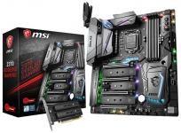 MSI представила платы Z370 Godlike Gaming и Z370 Gaming Pro Carbon AC    Производители материнских плат равномерно расширяют свой ассортимент моделями для микропроцессоров Core i3/i5/i7-8000 (Coffee Lake-S), совместимыми только с чипсетами Intel 300-й серии. MSI, в отличие, к примеру, от Gigabyte, не стала открывать сразу все свои карты, и ограничилась всего 2-мя платами «LGA1151 + Z370» — Z370 Godlike Gaming и Z370 Gaming Pro Carbon AC. Оба решения выделяются многозонной настраиваемой…