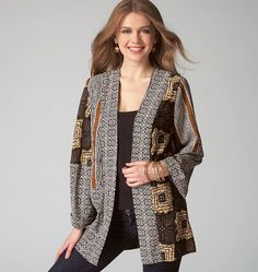 Purchase McCall's 7132 MISSES' JACKETS and read its pattern reviews. Find other Coat/Jacket,  sewing patterns.
