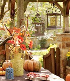 Fun fall picnic....