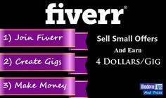 Make Money on Fiverr