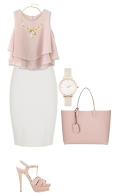 Bez naslova #356 by shawty696 on Polyvore featuring polyvore, fashion, style, Chicwish, Yves Saint Laurent, Gucci, Olivia Burton and clothing