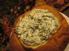 Spinach Spectacular Recipe...  A spinach dip that's great served hot or cold! Here's a dish that's easy to take along for tailgating… and a winner for your buffet table.