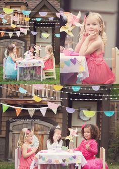 San Francisco East Bay Photographer | Personal Post/Little Girl Tea Party » Angela's Blog