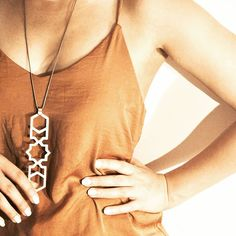 Jali necklace - strong bold geometry, simple and chic #jewellery #jewelry #sexy #fashion #trend #metal #geometry #photooftheday #photoshoot #model #chic #classic #necklace