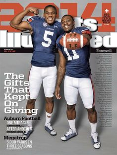 SI's title game pick!! Oh, and yet another 2013 cover issue :)
