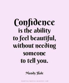 Ability to Feel Beautiful – Mandy Hale