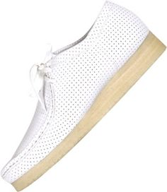 Clarks Wallabee shoes white