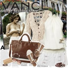 """VANCL - Online shopping place!"" by anita-n ❤ liked on Polyvore"