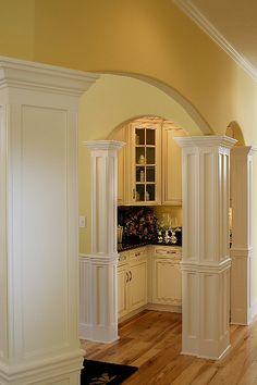 Amazing modern Butler's pantry
